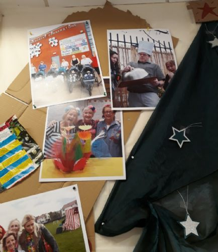 Click to view Community Section at Salford Star exhibition