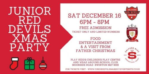 Click to view Junior Red Devils Christmas Party