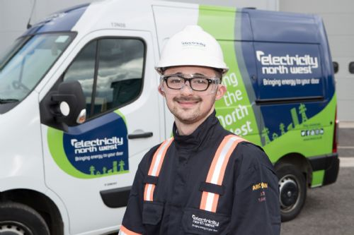 Click to view Electricity North West Apprentices