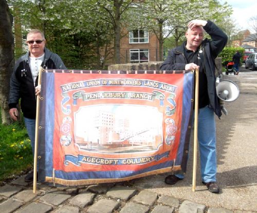 Click to view Agecroft Colliery Memorial Garden Dedication