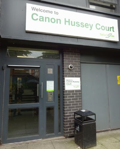 Click to view Canon Hussey Court Salford