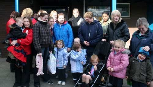 Click to view Charlestown Primary Schools Parents Protest Against Closure