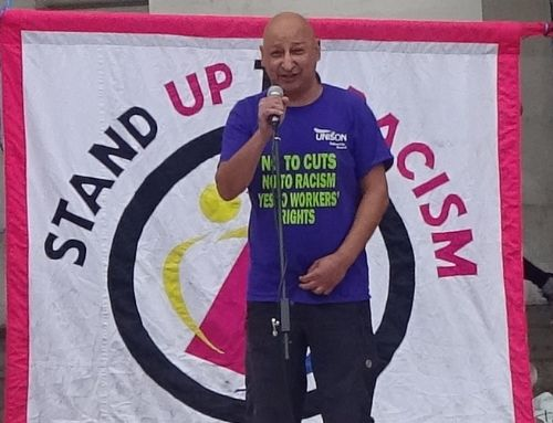 Click to view Stand Up To Racism Manchester rally