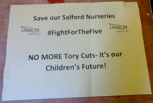 Click to view Save Our Salford Nurseries Public Meeting