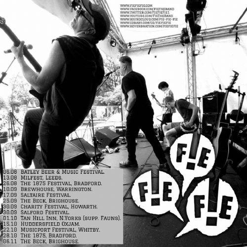 Click to view Fie Fie Fie at Salford Music Festival