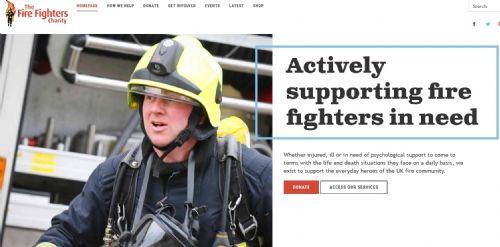 Click to view The Fire Fighters Charity