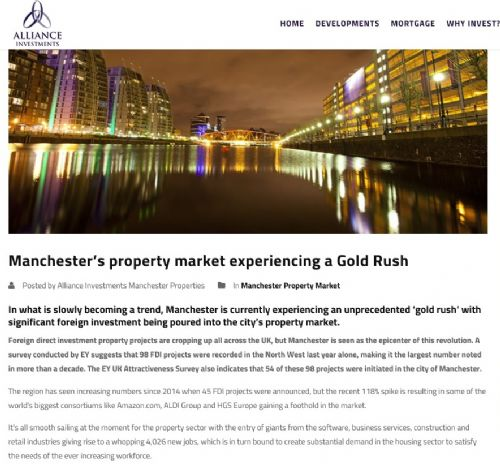 Click to view Manchester Salford property Gold Rush
