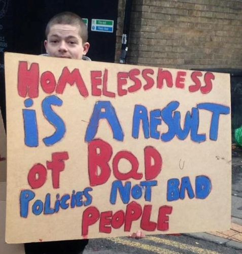 Click to view Homelessness in Salford and Manchester