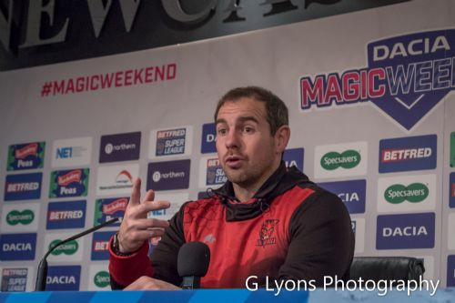 Click to view Salford Red Devils coach Ian Watson