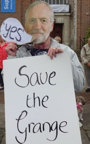Click to view 'Jeremy Corbyn' joins fight to Save The Grange