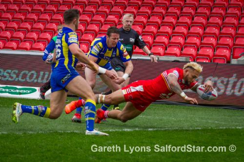 Click to view Salford Red Devils 22 Warrington 14