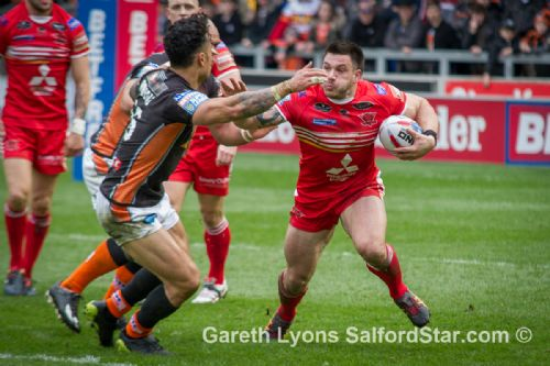 Click to view Salford Red Devils 13 Castleford Tigers 12