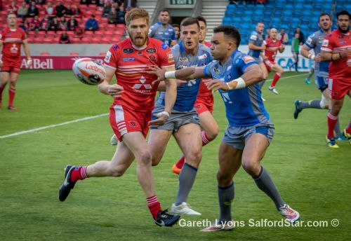 Click to view Salford Red Devils beat Wakefield Trinity in Challenge Cup