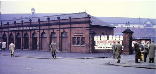 Click to view Salford Racecourse Turnstiles