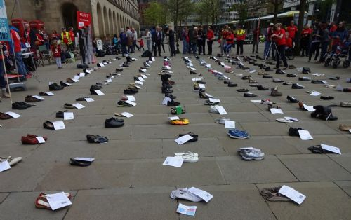 Click to view #MillionsMissing Rally Manchester