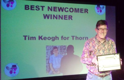 Click to view Thorn wins Best Newcomer Award at GM Fringe