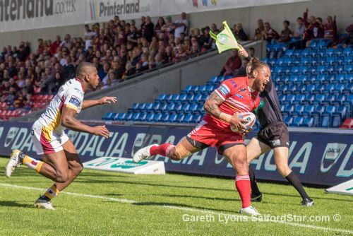 Click to view Salford Red Devils 52 Huddersfield Giants 14