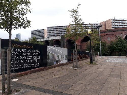 Click to view Salford artists hit back at Manchester re-branding and gentrification
