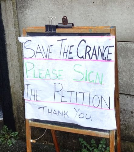 Click to view Salford City Fans Sign Save The Grange Petition