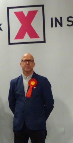 Click to view Salford Councillor Paul Longshaw