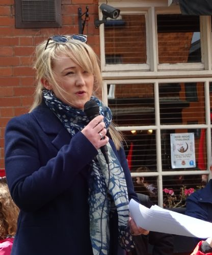 Click to view Salford May Day - Rebecca Long-Bailey