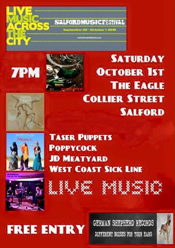 Click to view Eagle Inn gigs at Salford Music Festival