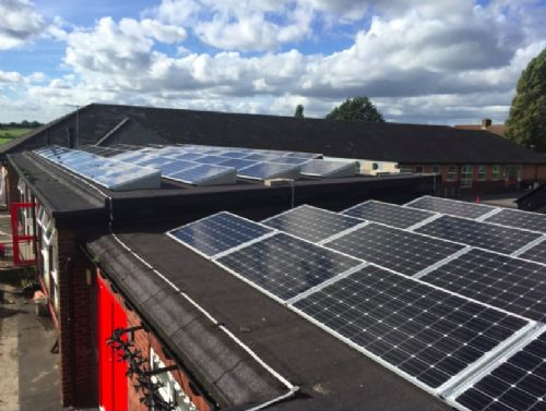 Click to view Salford schools solar panel