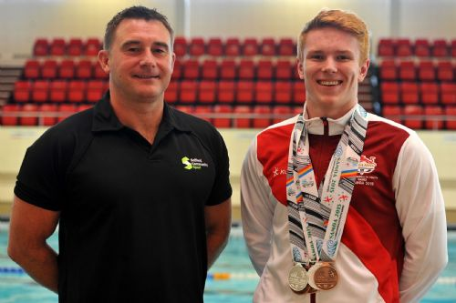 Click to view Salford Swimmer Lewis Clough Selected for Junior Team GB