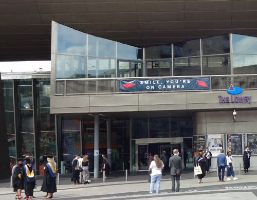 Click to view Salford University graduation ceremony