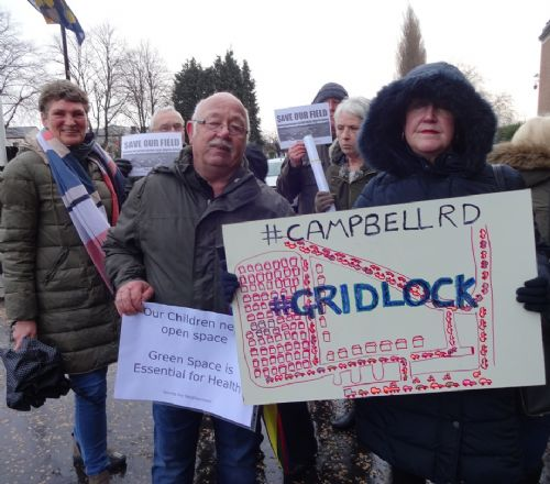 Click to view Rampant development protest at Salford Council