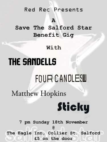 Click to view Salford Star Benefit Gig