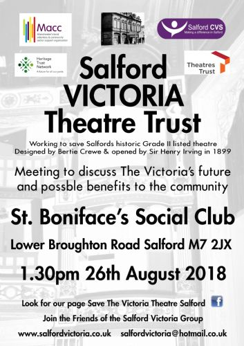 Click to view Save Salford Victoria Theatre Public Meeting
