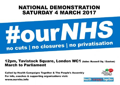 Click to view Save Our NHS Demo 4th March