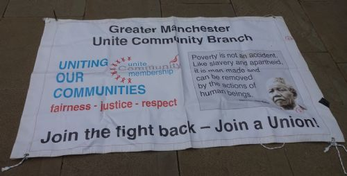 Click to view Stop and Scrap Universal Credit Demo Manchester
