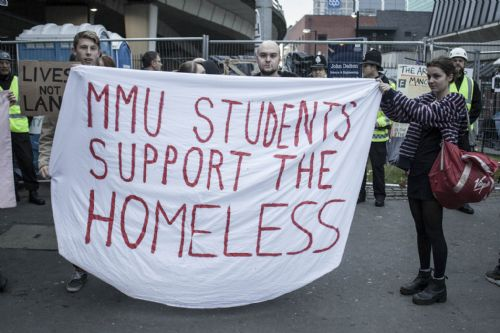 Click to view MMU evicts The Ark 2 homeless camp