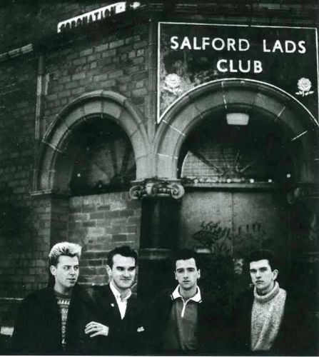 Salford Lads Club And Future Artists Host Morrissey