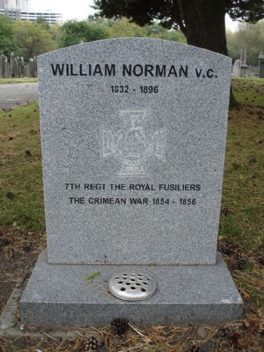 Click to view William Norman grave Weaste