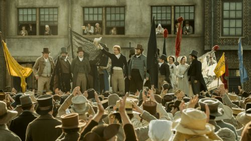 Click to view Mike Leigh's Peterloo