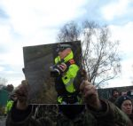 Barton Moss anti-fracking protest
