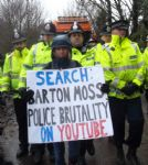 Barton Moss Anti Fracking Protests