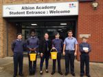 Albion Academy pupils help Church of the Ascension