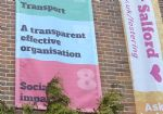 Salford Council 'transparency' banner