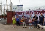 Salford Dirty Old Town gasworks demolition music protest