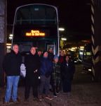 First Bus drivers strike support protest at Queens Road depot