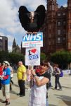 NHS Expo Protest Manchester