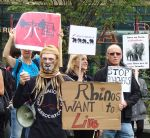 Manchester Global March for Elephants and Rhinos
