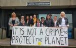 Lancashire Anti-Fracking residents and councillors outside court last week
