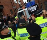 Huge demo against Manchester Conservative Party Conference