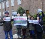 Rampant development protest at Salford Council