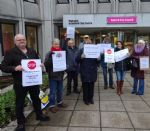 Salford City Council Meeting Disrupted by Protest